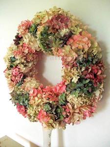 Wed-Sep 23- 2020 ^  Hydrangea Wreath